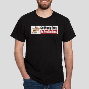 So Many Cats Dark T-Shirt