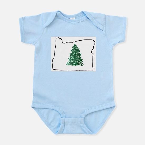 Tree in Oregon Infant Bodysuit