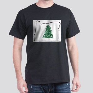Tree in Oregon Dark T-Shirt