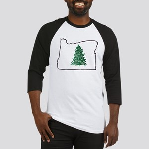 Tree in Oregon Baseball Jersey