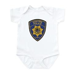 Gustine California Police Infant Bodysuit