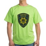 Gustine California Police Green T-Shirt