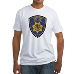 Gustine California Police Fitted T-Shirt