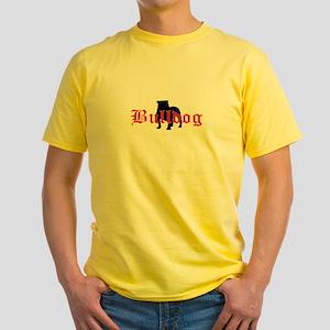 OE Bulldog Type Ash Grey T-Shirt