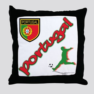 Portugal soccer Throw Pillow