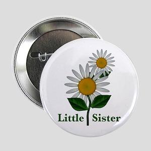 "Daisies Little Sister 2.25"" Button"