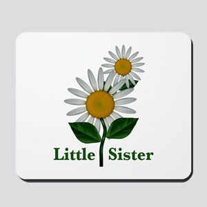 Daisies Little Sister Mousepad