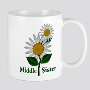 Daisies Middle Sister Mug