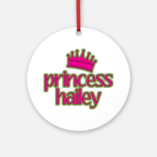 Princess Hailey Ornament (Round)