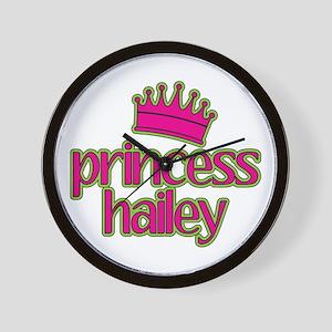 Princess Hailey Wall Clock