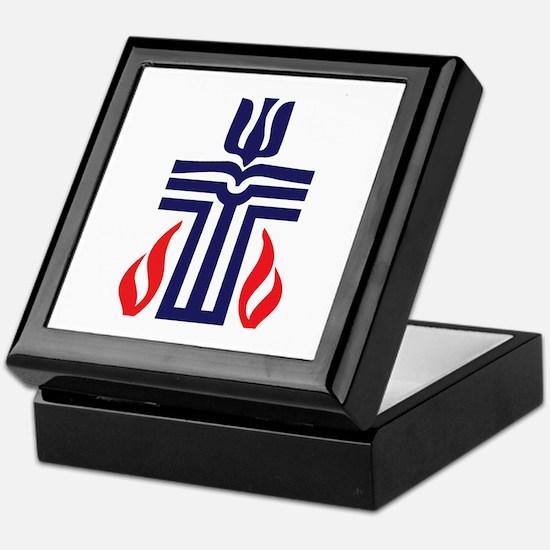 Presbyterian logo Keepsake Box