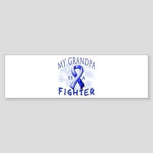 My Grandpa Is A Fighter Sticker (Bumper)