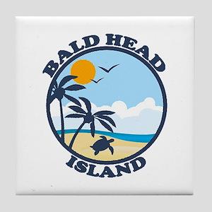 Bald Head Island NC - Sand Dollar Design Tile Coas
