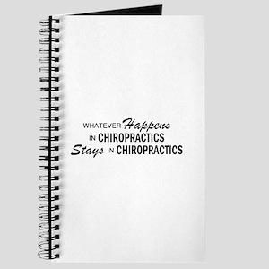 Whatever Happens - Chiropractics Journal