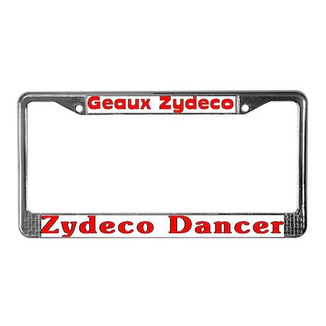 Zydeco Dancer License Plate Frame