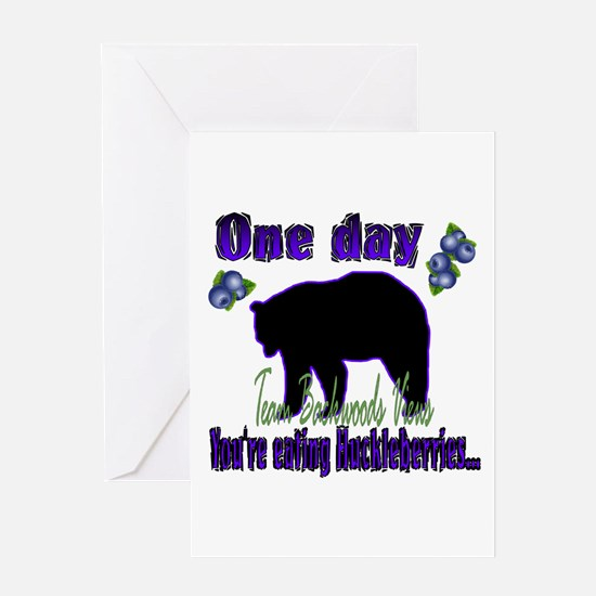 One Day...then BANG!! Greeting Card