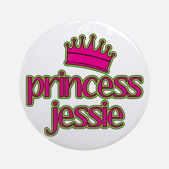 Princess Jessie Ornament (Round)