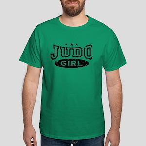 Judo Girl Dark T-Shirt