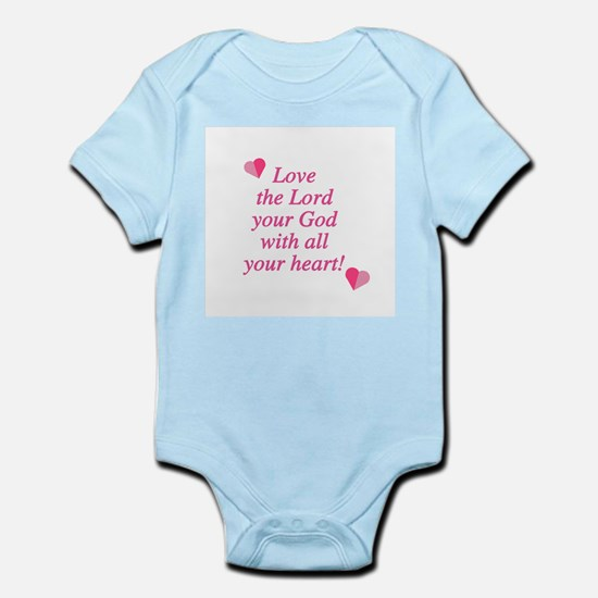 Love the Lord Infant Creeper
