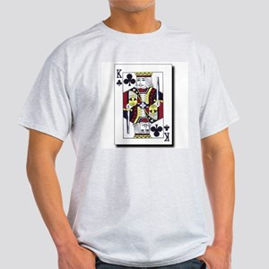 King of Clubs Ash Grey T-Shirt