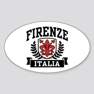 Firenze Italia Sticker (Oval)