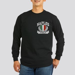Naples Italy Long Sleeve Dark T-Shirt