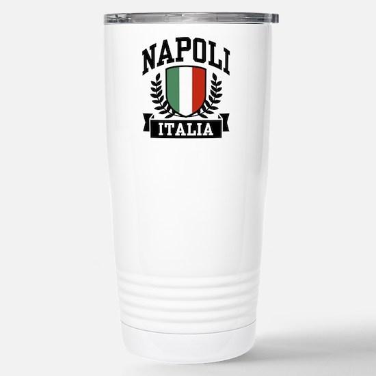 Napoli Italia Stainless Steel Travel Mug