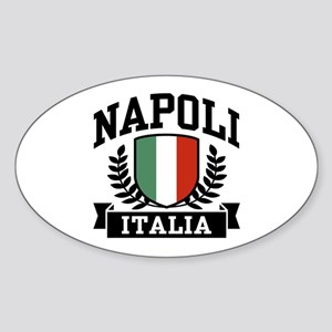 Napoli Italia Sticker (Oval)
