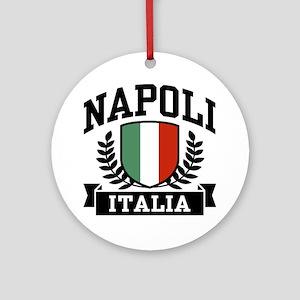 Napoli Italia Ornament (Round)