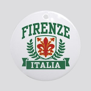 Firenze Italia Ornament (Round)