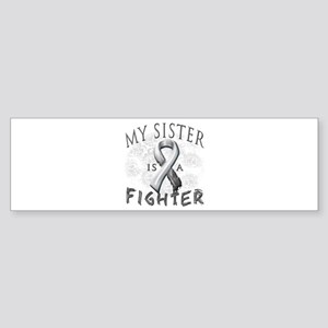 My Sister Is A Fighter Sticker (Bumper)