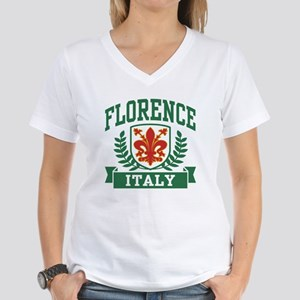 Florence Italy Women's V-Neck T-Shirt