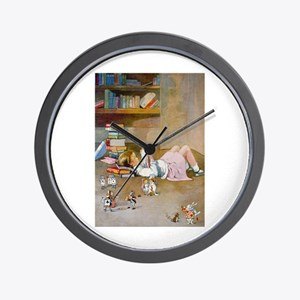 TRIP TO WONDERLAND Wall Clock