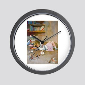TRIP TO WONDERLAND Wall Clock