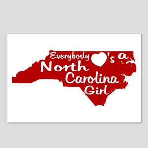 Everybody Loves a NC Girl (Re Postcards (Package o