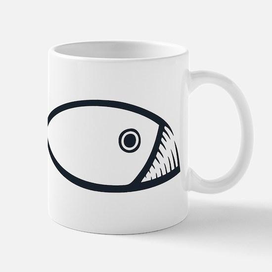 Evolution Fish Mug