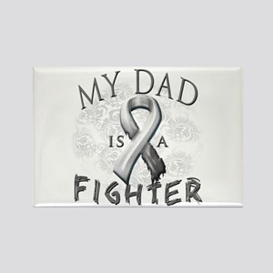 My Dad Is A Fighter Rectangle Magnet