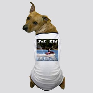 Jet Ski USA Dog T-Shirt