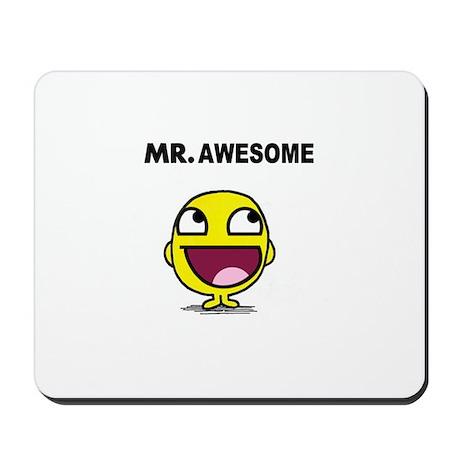 Mr. Awesome Mousepad