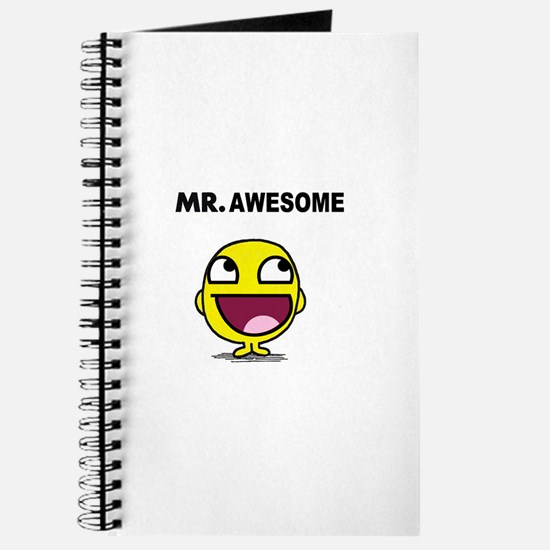 Mr. Awesome Journal