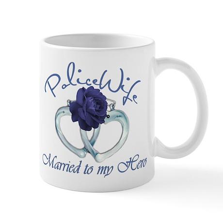 PoliceWife: Married My Hero Mug