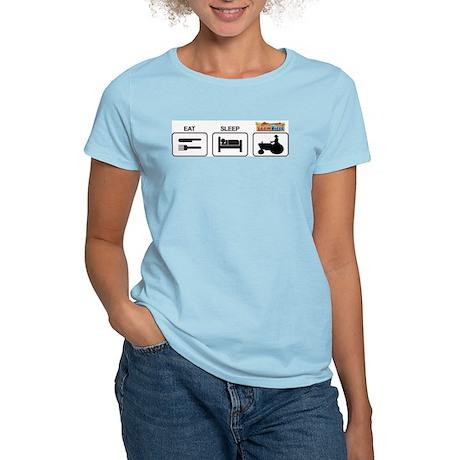 Eat Sleep Farmville Logo Women's Light T-Shirt