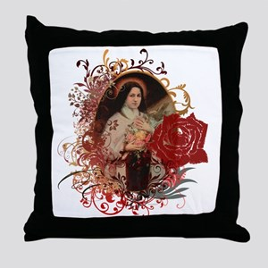 St. Therese Throw Pillow