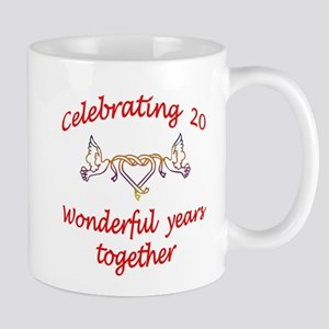 celebrating 20 years Mugs
