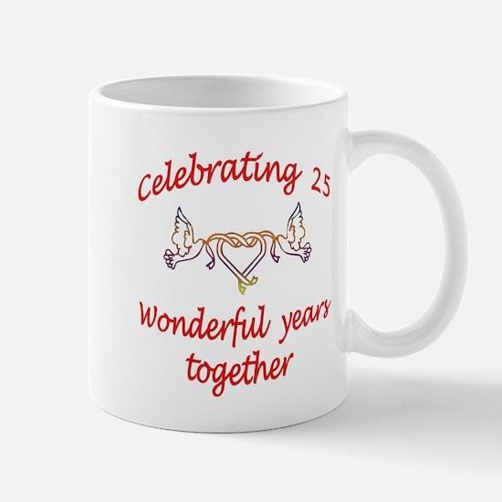 Unique Twenty fifth Mug
