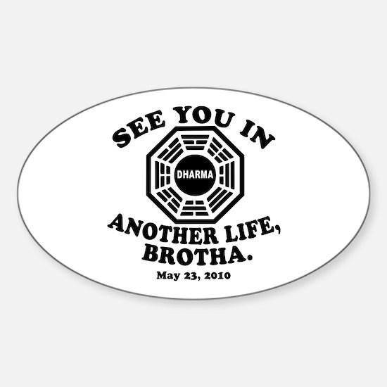 FINALE of LOST Commemorative Sticker (Oval)