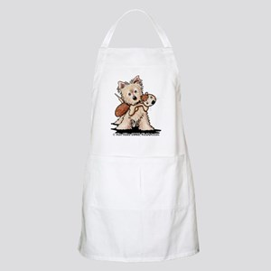 Cairn w/ Chipmunk Toy Apron