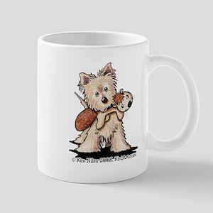 Cairn w/ Chipmunk Toy Mug
