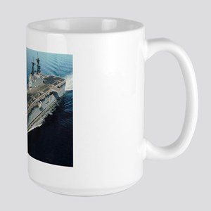 USS Essex LHD 2 Large Mug