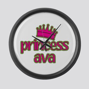 Princess Ava Large Wall Clock